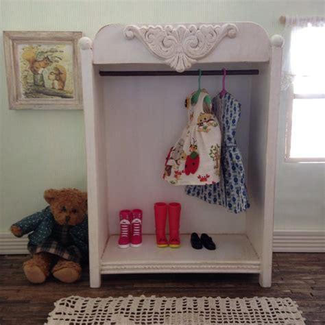Doll Wardrobe Closet by Blythe Doll White Clothes Closet Wardrobe Armoire