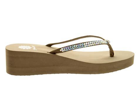 yellowbox sandals yellow box s custard flip flop sandals ebay