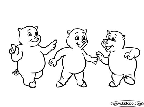 little pig coloring page little pig fun coloring page