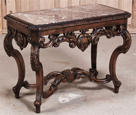 marble top end tables antique louis xiv marble top end table antique furniture
