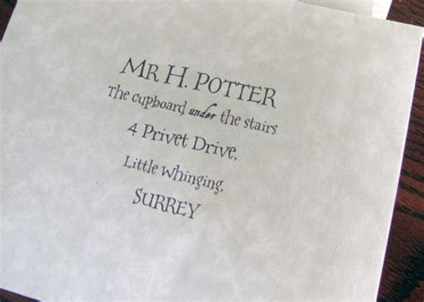 Harry Potter Acceptance Letter Text 1000 Ideas About Harry Potter Miniatures On