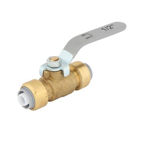 Push Fit Valves Plumbing by Smartex 16mm Brass Push Fit Pex Valve Ebay
