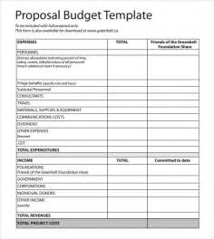 Budget For Grant Proposal Template Best Photos Of Budget Proposal Template Word Sample