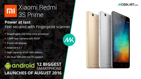 Headset Xiaomi Redmi 3s android smartphone launches of august 2016