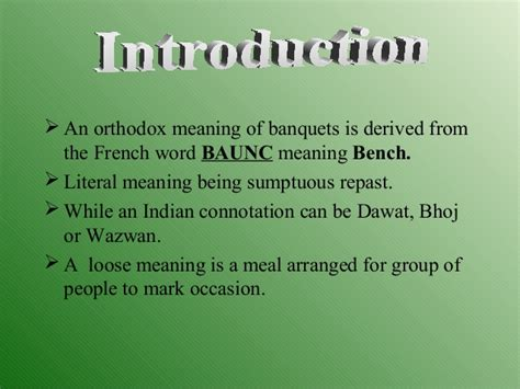 banquet hall meaning in hindi banquets