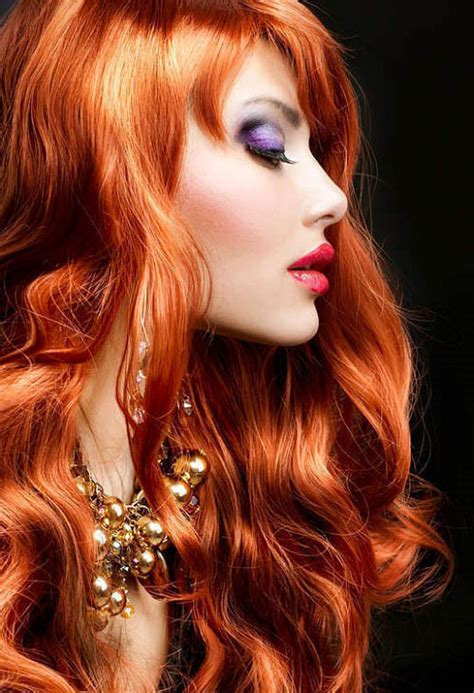 hairstyles for dyed red hair a red hair color from mother nature gorgeous hairstyles