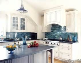 Blue Backsplash Kitchen 32 Amazing Beach Inspired Kitchen Designs Digsdigs