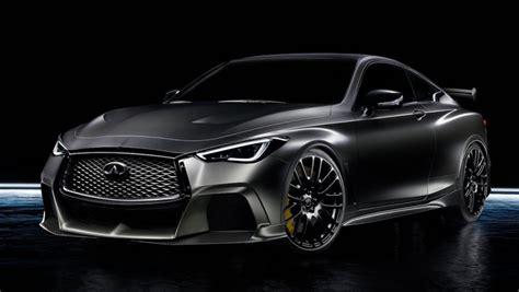 2020 Infiniti Q60 Black S by 2020年市販化か インフィニティ Q60ブラックs改良型が10月公開の噂 Clicccar クリッカー