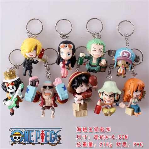 Figure Set One 6pcs Luffy Usopp Chopper Nami Franky Nico one franky goods catalog chinaprices net