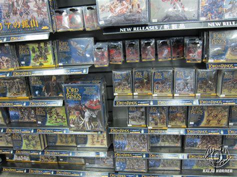 kaiju korner games workshop miniatures in japan