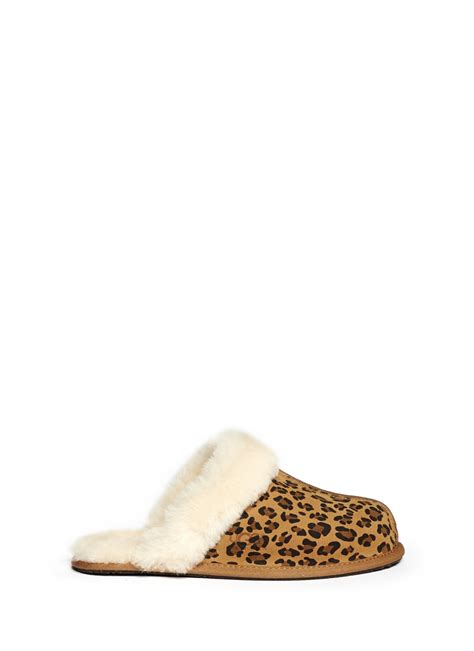 giraffe print slippers ugg sheepskin lined leopard print slippers in animal