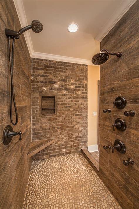 amazing walk  shower design ideas craftsman