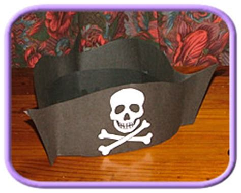 How To Make A Pirate Hat With Paper - fall craft ideas haunt house craftsallyou