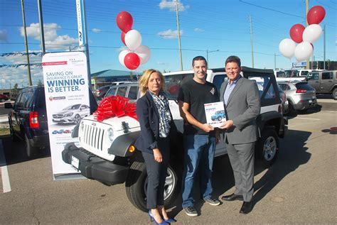 Jeep Wrangler Giveaway 2017 - louis rossi of woodbridge wins 2017 jeep wrangler sport s in select sweepstakes