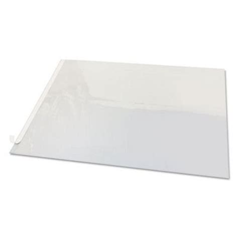 artistic second sight clear plastic desk protector 24 x