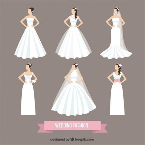 Wedding Dress Vector by Wedding Fashion Vector Free