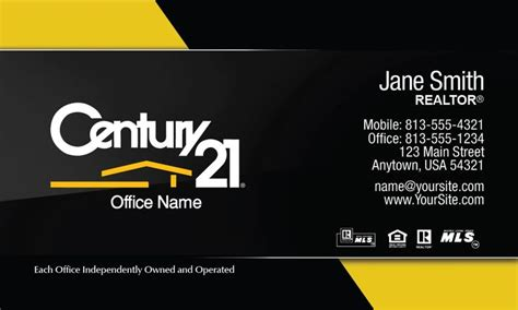 century 21 business card template 1000 images about century 21 business cards on