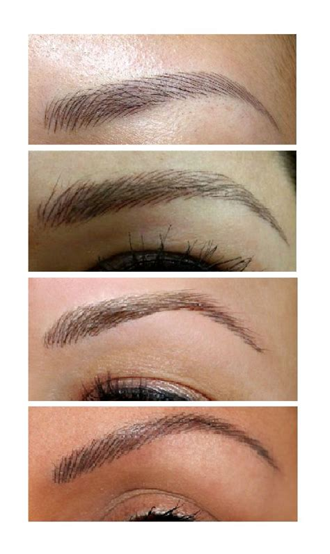 tattoo eyebrows touch up 25 best ideas about feather eyebrow tattoo on pinterest