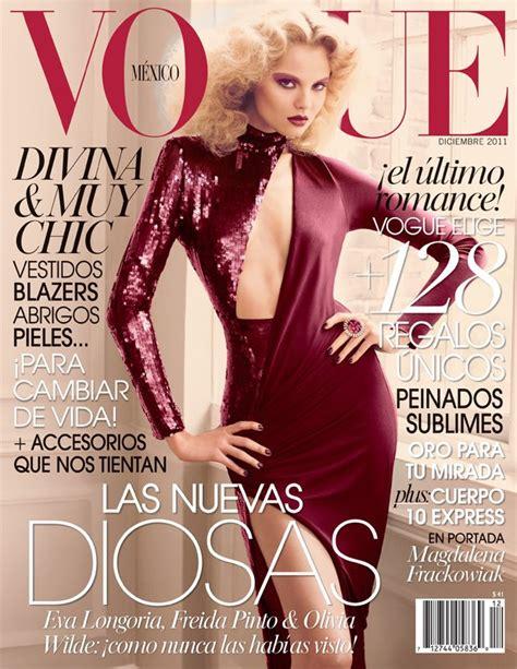 design magazine mexico magdalena frackowiak for vogue mexico december 2011
