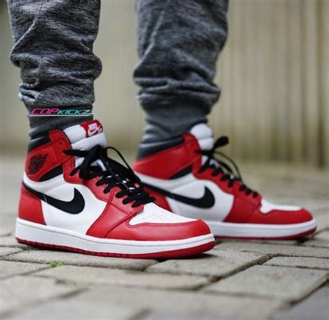 Big Sale Air 1 Bred Banned Flyknit Perfectkicks nike air 1 high quot chicago quot summer 2015 modern