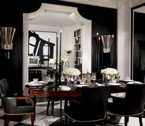 Black And White Dining Room Ideas Christopher Ong My Footsteps My Dreams Beautiful