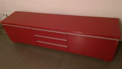 tv dressoir rood huis en inrichting kasten wandmeubels tv meubels 19573