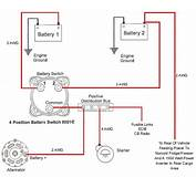 How To Wire Dual Batteries/isolator/battery Selector