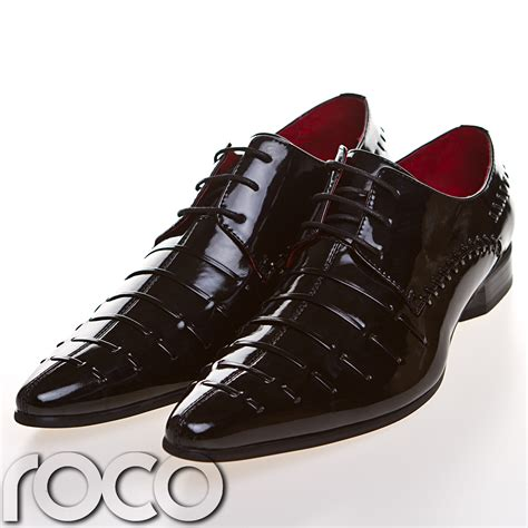 cheap mens formal shoes black wedding patent mens fashion