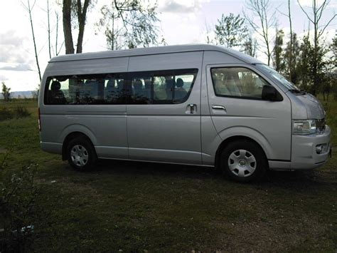Toyota Hiace 2008 2008 Toyota Hiace Pictures 2 7l Gasoline Fr Or Rr