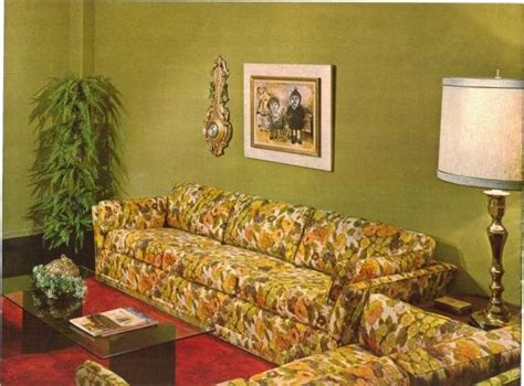 Burnt Orange Home Decor by A Tour Of Groovy 1970s Sofas Flashbak