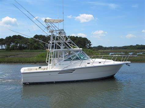 1997 used pursuit 3400 express cruiser boat for sale