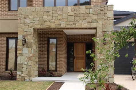 melbourne feature wall contemporary exterior