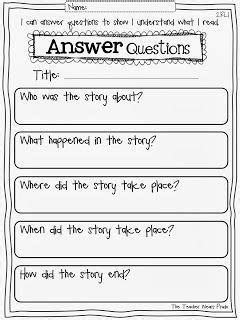best 20 reading comprehension worksheets ideas on