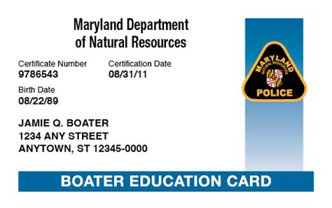 maryland boating license boat safety course boat ed 174 - Maryland Boating License