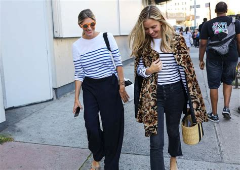 Mannish Chic At Fashion Week by The Best Style From New York Fashion Week