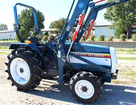 Mitsubishi Tractor For Sale Mitsubishi Mt2501 Tractors For Sale