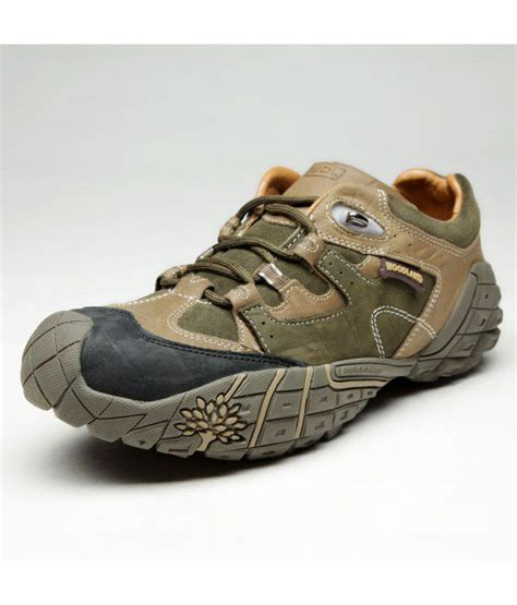 woodland brown leather casual shoes price in
