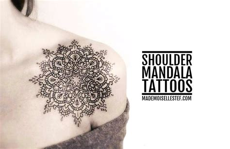 tattoo ideas 45 shoulder mandala