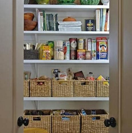 Pantry Organization Baskets by Pantry Neat Method