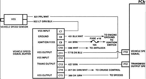 wire speed sensor wiring diagram