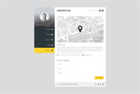 premium layers html vcard resume template premium layers html vcard resume template by premiumlayers themeforest