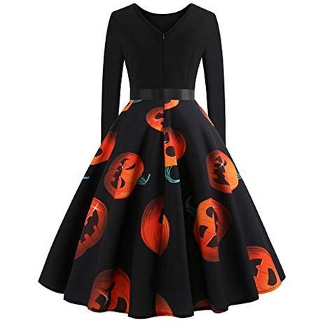vectry kleider damen halloween kostuem festlich mini