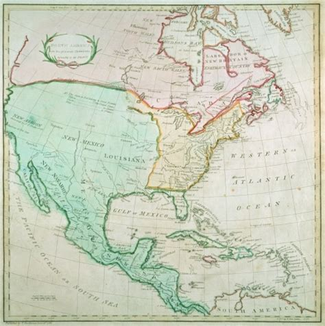 america map in 1783 map of america 1783 print by or