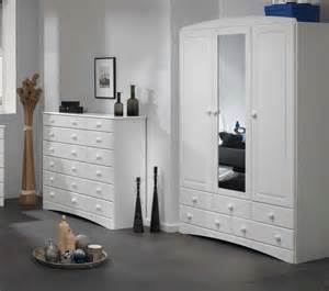 White Dining Room Sets by Room4 Scandi White 3 Door 5 Drawer Wardrobe With