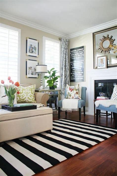 striped rug in living room best 25 striped rug ideas on stripe rug