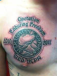 image gallery medal tattoo