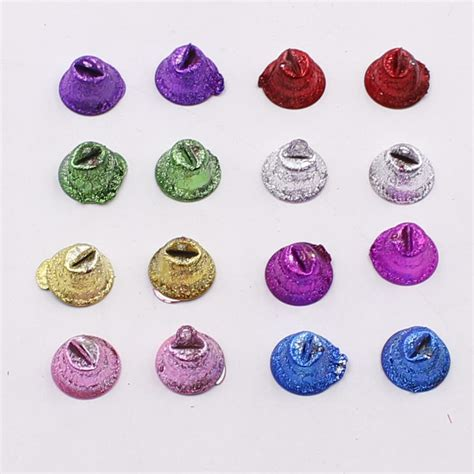 Handcrafted Accessories - aliexpress buy 10pcs colorful metal bells