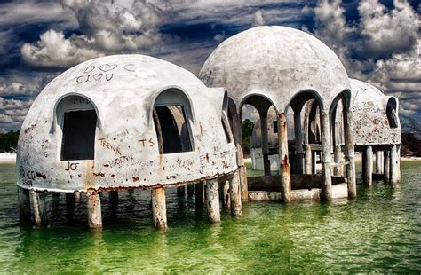 Abandoned Places Florida | deserted places the mysterious dome houses in southwest