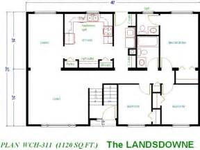 Amazing Cabin Floor Plans Under 1000 Square Feet #8: 1200-sq-ft ...