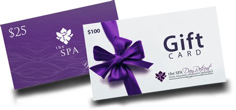 Facial Gift Cards - gift card the spa ottawa spa care retreat